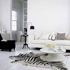 Modern White Rug Black And White Zebra Rug Design Ideas
