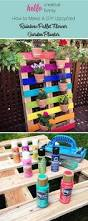 15 diy garden planter ideas using wood pallets hative