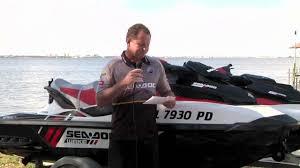 tips sea doo onboard
