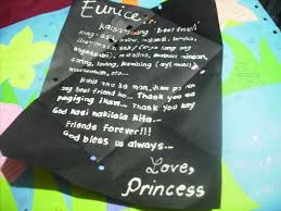 card messages tagalog open letter to my bestfriend u scattered