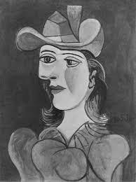 Dora Maar In An Armchair Pablo Picasso Female Bust Dora Maar 1938