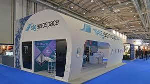 Aircraft Interiors Expo Americas Stg Aerospace Stg Aerospace Lights Up Aircraft Interiors Expo 2016