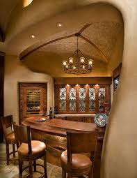 southwest style homes southwest style by r net custom homes traditional home bar