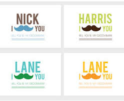 groomsmen invitations i mustache you groomsman invitation allfreediyweddings