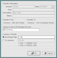 multiple currency accounting in gnucash