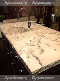 kitchen island countertop veined kitchen island concrete countertop