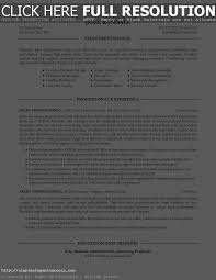 Resumes For Sales Professionals Sample Resume For Professionals Gallery Creawizard Com