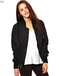 women bomber jacket 2016 autumn spring ladies jackets tops solid