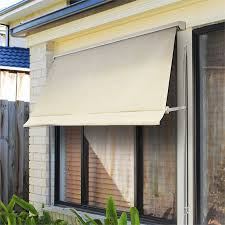 External Awning Blinds Windoware 2 4 X 2 1m Safari Retractable Fixed Arm Outdoor Awning Blind
