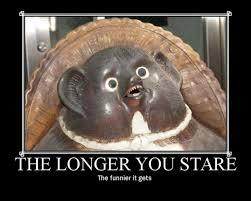 Stare Meme - meme classics the longer you stare the funnier it gets