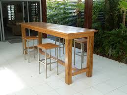 Patio Bar Height Dining Set - bar top patio furniture icamblog