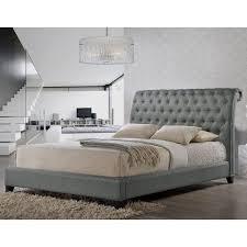 Flat Platform Bed Frame Bedroom High Platform Bed Frame Queen Queen Bed And Frame
