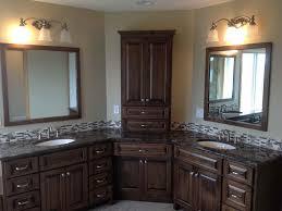 Design For Corner Bathroom Vanities Ideas Corner Bathroom Vanity Remodel Ideas Interior Design Ideas