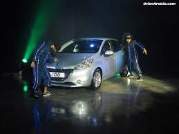 peugeot uae peugeot 208 launched in the uae u0026 gcc drive arabia
