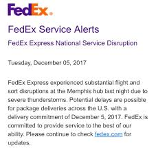 crockett fantasy of lights just received a fedex service disruption crockett fantasy of