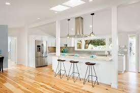 Shaker Style White Cabinets White Shaker Style Kitchen Cabinets Hickory Hardwood Floors Yelp