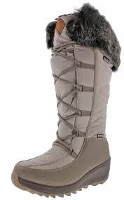 womens boots kamik kamik pinot s waterproof boots faux fur ebay