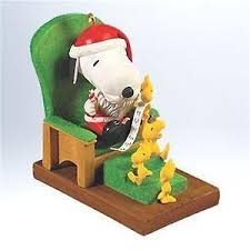 hallmark snoopy ornament ebay