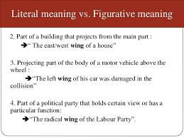 type of meaning semantics
