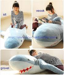 Shark Bean Bag 71 1 8m Shark Stuffed Animal Plush Soft Pillow