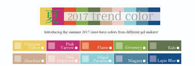 trending colors for 2017 2017 summer nail trend color