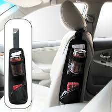 Accessories For Cars Interior Car Seat Side Storage Organizer Interior Multi Use Bag Accessory