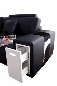 Black Modern Living Room Furniture by Living Room File Leather Sectional Sofa Black Design Co With