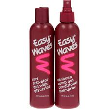 hair activator for black hair easy waves curl activator gel comb out conditioner hairspray