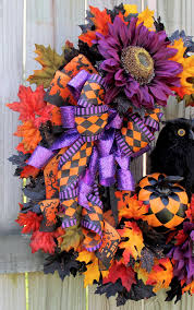 black feather wreath halloween irish u0027s wreaths where the difference is in the details