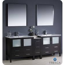 84 Bathroom Vanity Double Sink Fresca Torino 84