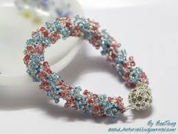 bracelet bead tutorials images Tutorial twin waves bracelet bead tutorial jpg