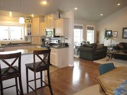 modern open concept kitchen paint color ideas for open concept kitchen and living room