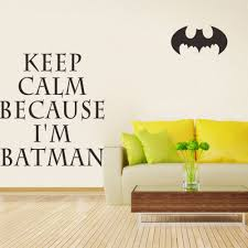 Batman Home Decor Aliexpress Com Buy 58 68 The New Dry Batman Keep Calm Home Decor