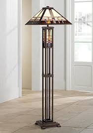 french country bronze amber art glass kitchen island art glass floor ls ls plus