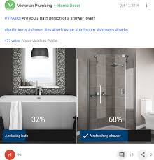 shower rail kits vs shower rigid riser kits victorian plumbing blog bath vs shower poll 2016 victorian plumbing