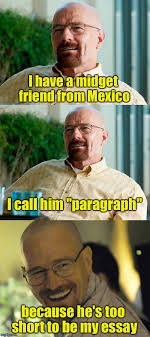 Meme The Midget - i have a midget friend from mexico i call him paragraph because
