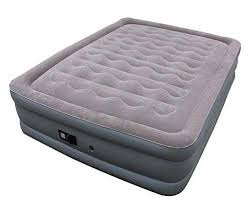 sable air mattress with built in electric pump and repair kit