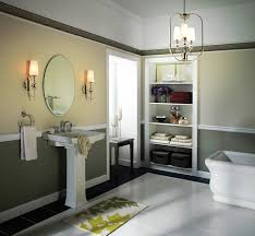 Towel Storage For Bathroom by Lighting Freestanding Bathtub And Towel Storage With Bathroom