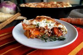 root vegetable skillet baked lasagna recipe weekend recipes