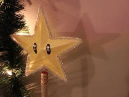 super mario star tree topper diy geeky goodies youtube