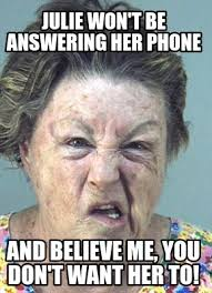 Old Phone Meme - meme maker cranky old woman generator