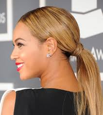 ponytail hair how to smooth bumps out of your hair for a sleeker ponytail