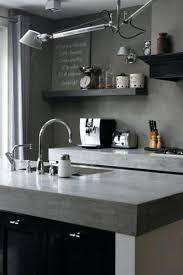 credence cuisine grise beton cire pour credence cuisine carrelage cuisine magazine back