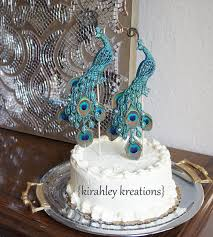 peacock wedding cake topper peacock wedding cake toppers gorgeous glittery iridescent