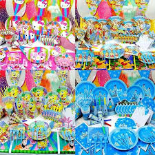 party supplies cheap wholesale 2016 new kids birthday package birthday party supplies