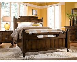 King Sized Bed Set Magnificent Attic Bedroom Set With Wood Furnishings And King Sized
