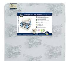 Is A Toddler Mattress The Same As A Crib Mattress Serta Tranquility Deluxe Firm Crib And Toddler Mattress