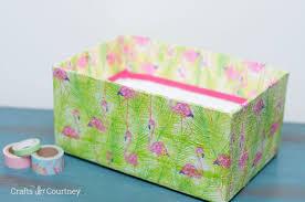 unique box box makeover with mod podge and napkins mod podge rocks