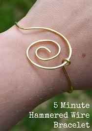 simple jewelry bracelet images Simple wire jewelry how to make a 5 minute bracelet jpg