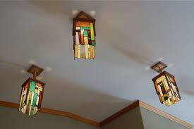 Stained Glass Pendant Light Stained Glass Pendant Light